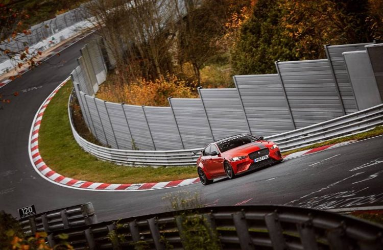 New Nürburgring lap record for 200mph Jaguar XE SV Project 8