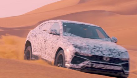 Lamborghini Urus previewed with ANIMA off-road modes (video)