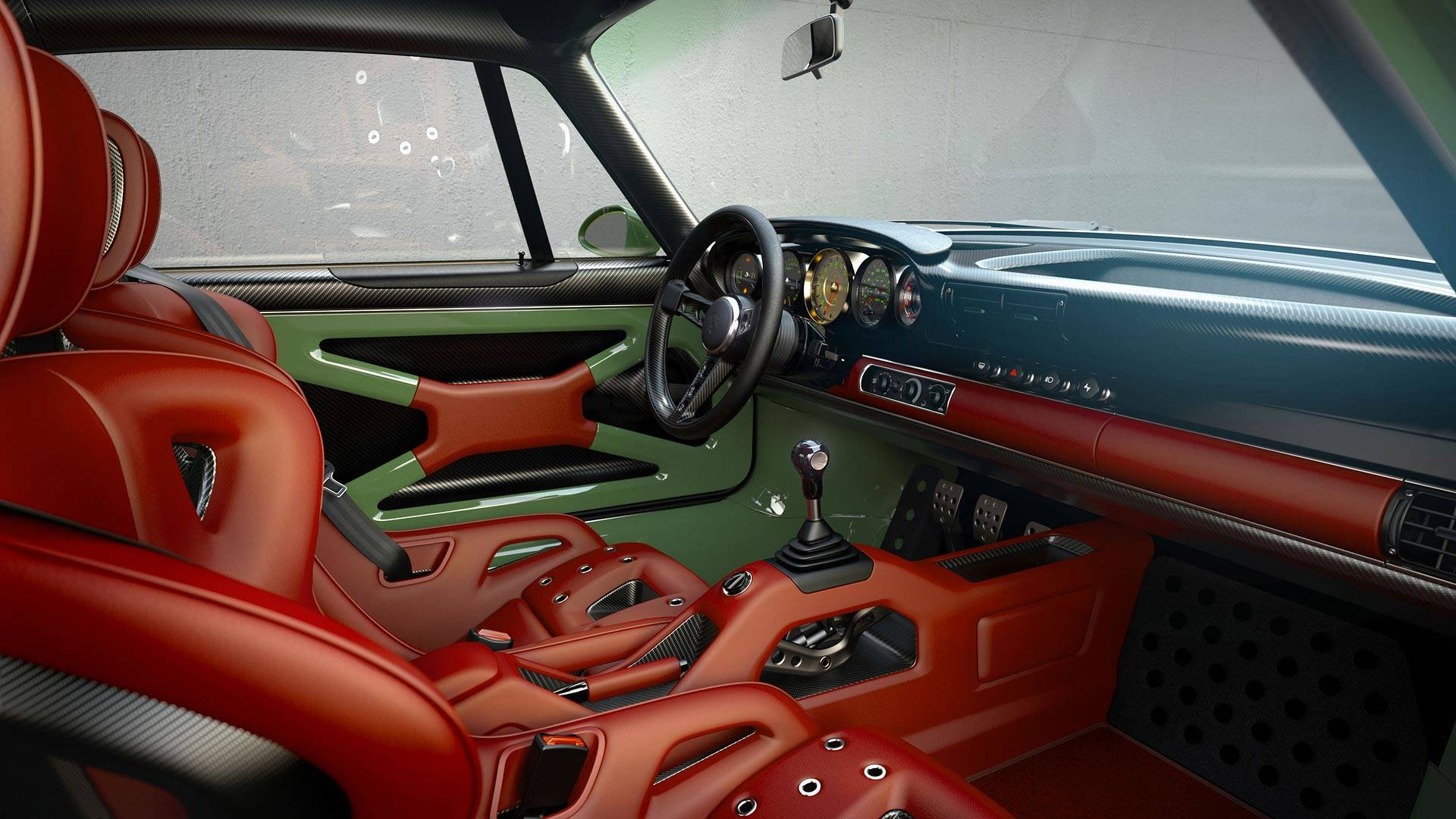 Singer Design Porsche 911 Williams Interior