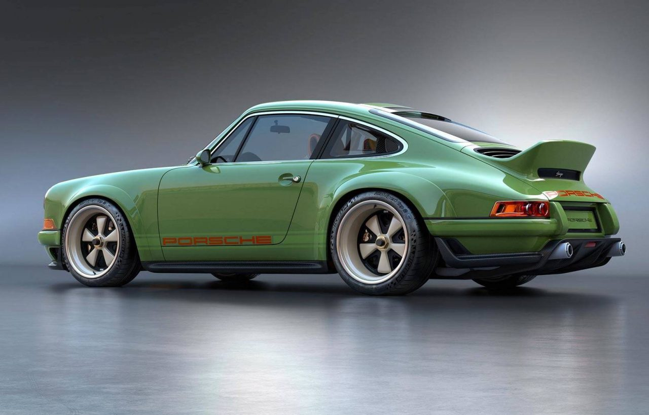 Singer Design Porsche 911 Project With Williams Tech