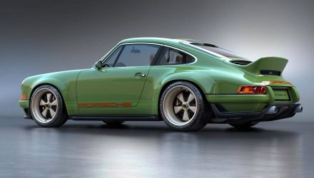 Singer Design Porsche 911 project with Williams tech finished
