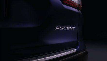 Subaru Ascent 7-seat SUV confirmed for LA show