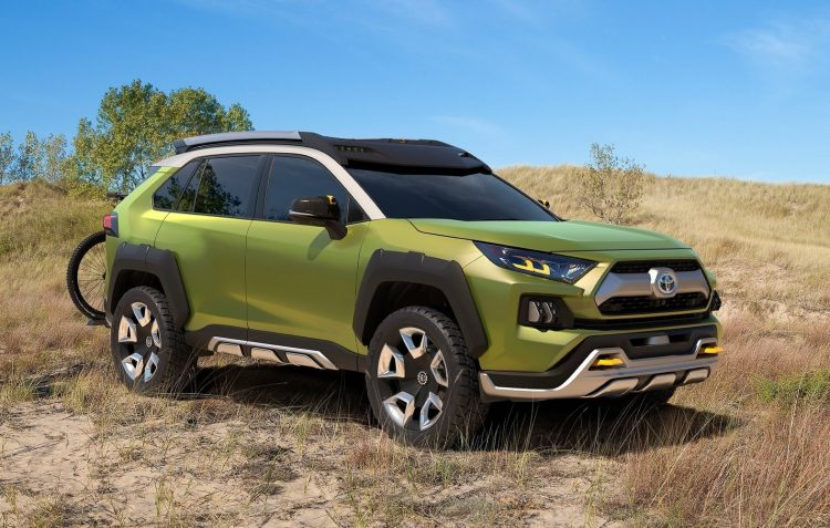 Toyota Future Adventure Concept (FT-AC) frowns its way into LA