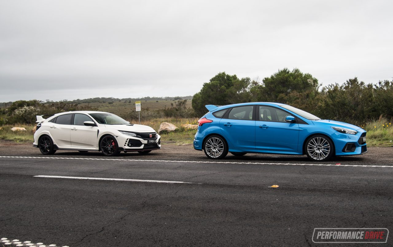 honda civic vs ford focus The new honda civic type r promises high-performance fun in a practical package, but so does the ford focus rs which is better.