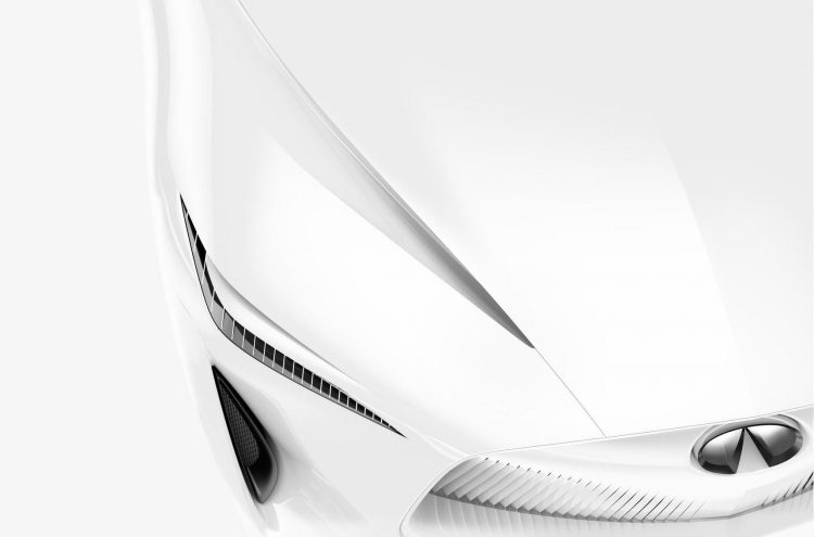 Infiniti prepares electric concept for Detroit motor show