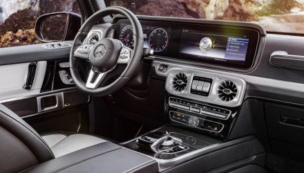 2019 Mercedes-Benz G-Class interior revealed