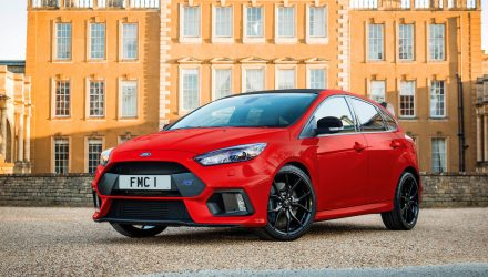 Ford UK announces RS Race Red edition for Christmas