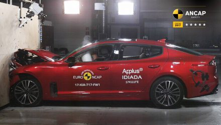 Kia Stinger scores 3- and 5-star ANCAP safety rating