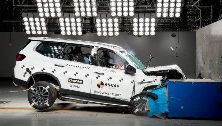 New Jeep Compass, Kia Niro, LDV D90 score 5-star ANCAP safety