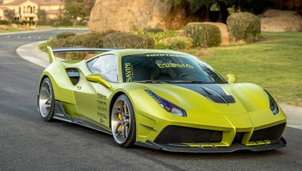 Misha Designs creates eye-popping Ferrari 488 GTB wide-body kit
