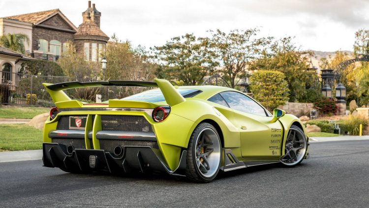 Misha Designs Creates Eye Popping Ferrari 488 GTB Wide