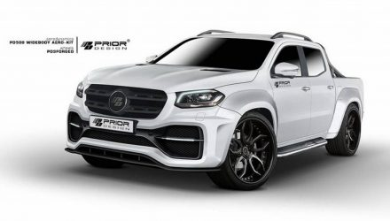 Prior Design develops wide-body kit for Mercedes X-Class