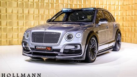 STARTECH develops potent tuning kit for Bentley Bentayga