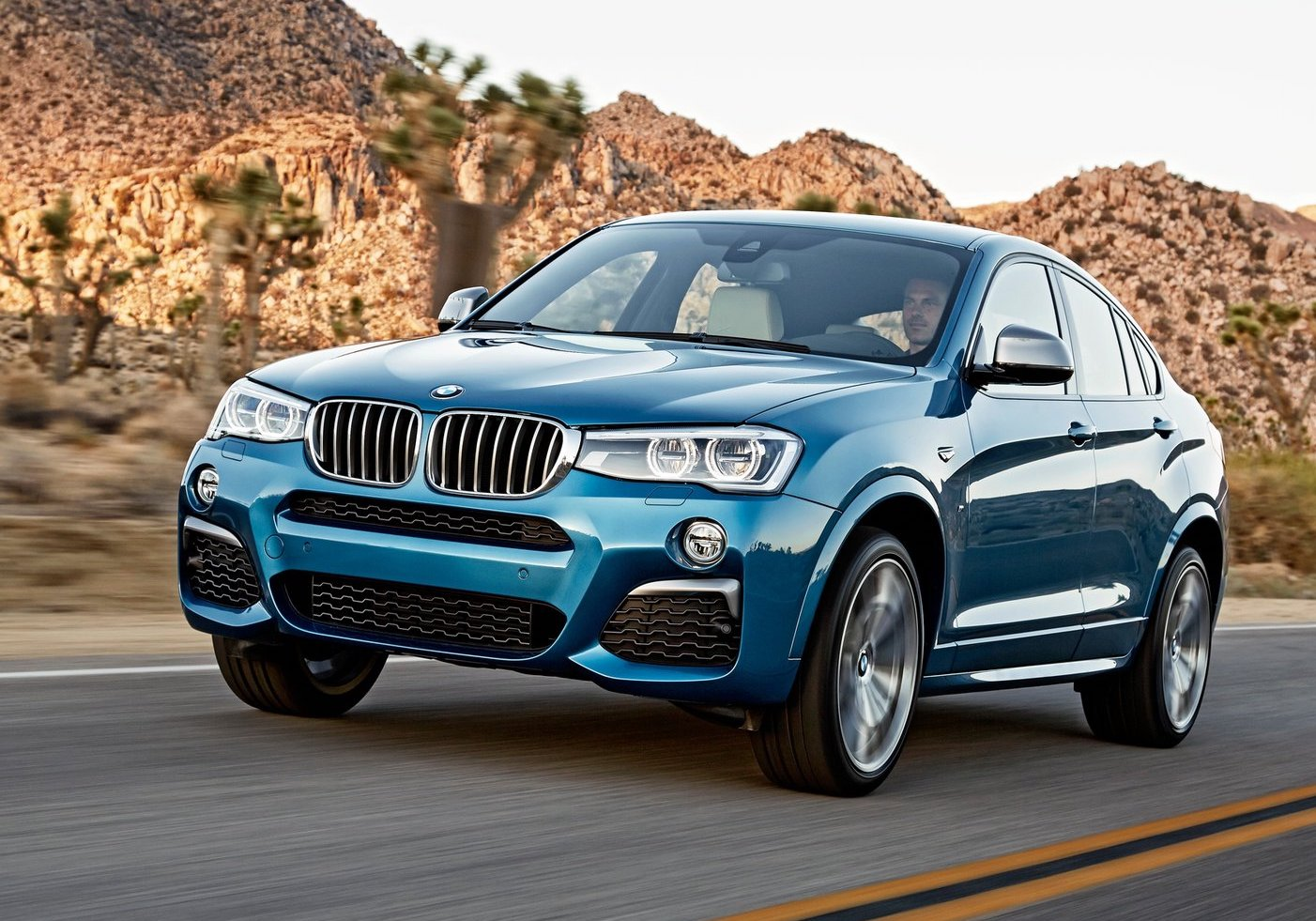 how to use the and on bmw x4