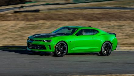2019 Chevrolet Camaro getting 7-speed manual option