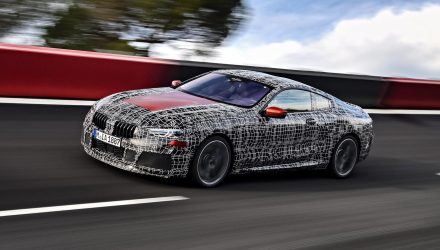 2018 BMW 8 Series undergoes endurance testing phase (video)