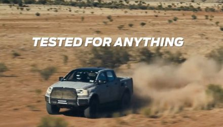 2018 Ford Ranger Raptor undergoes tough off-road testing (video)