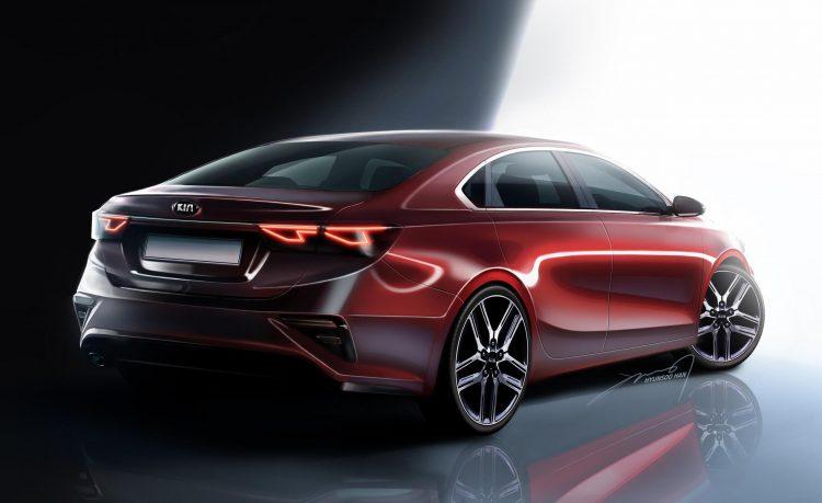 2018 Kia Cerato looks flash in official renderings ...