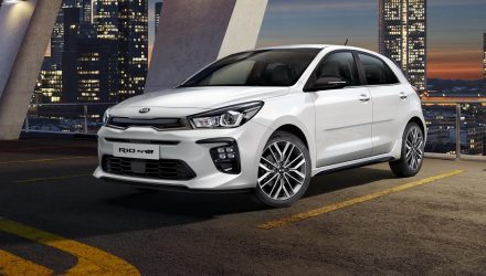 Sporty 2018 Kia Rio GT-Line revealed