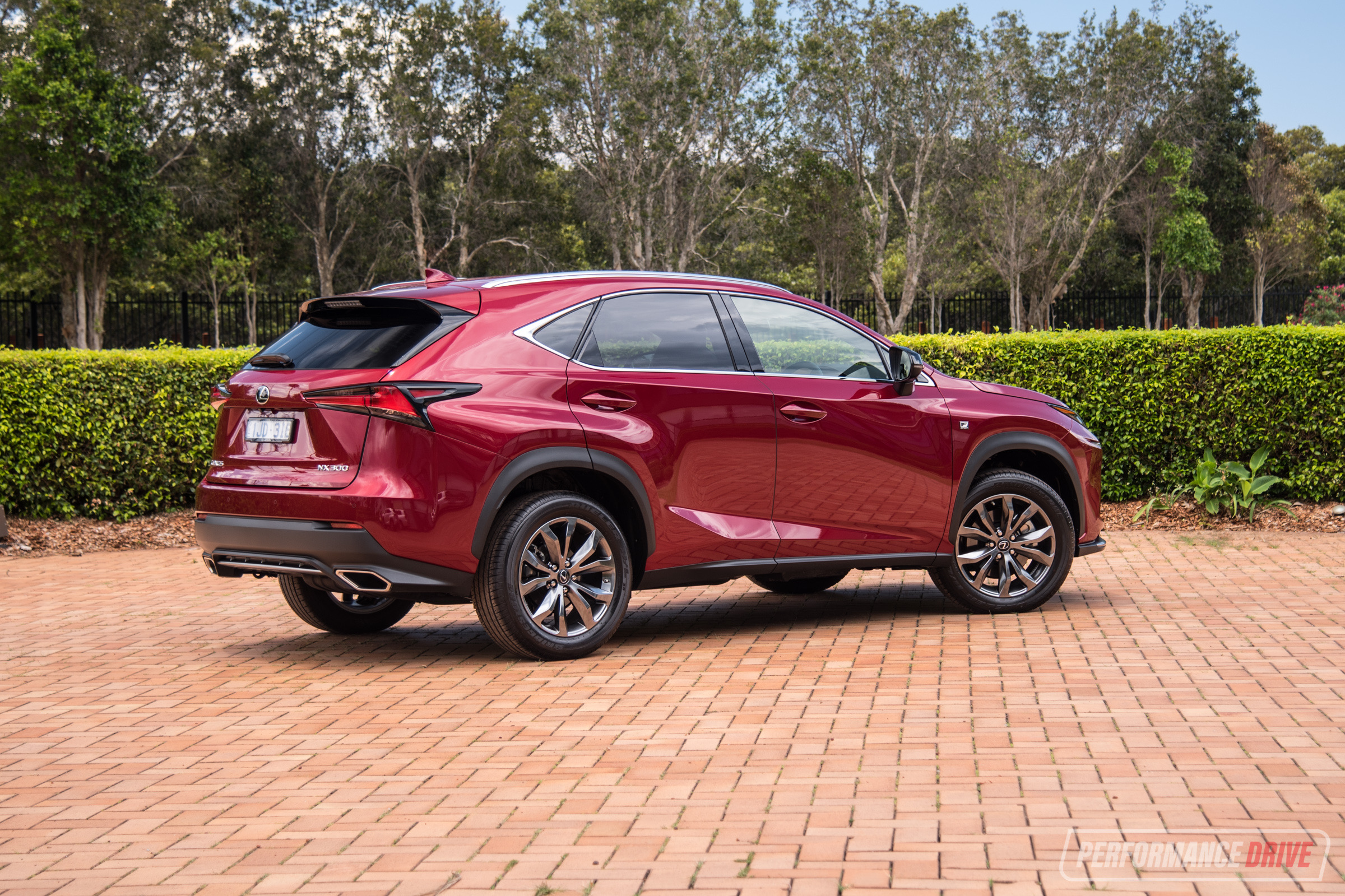 2018 lexus nx 300 f sport rear. Black Bedroom Furniture Sets. Home Design Ideas