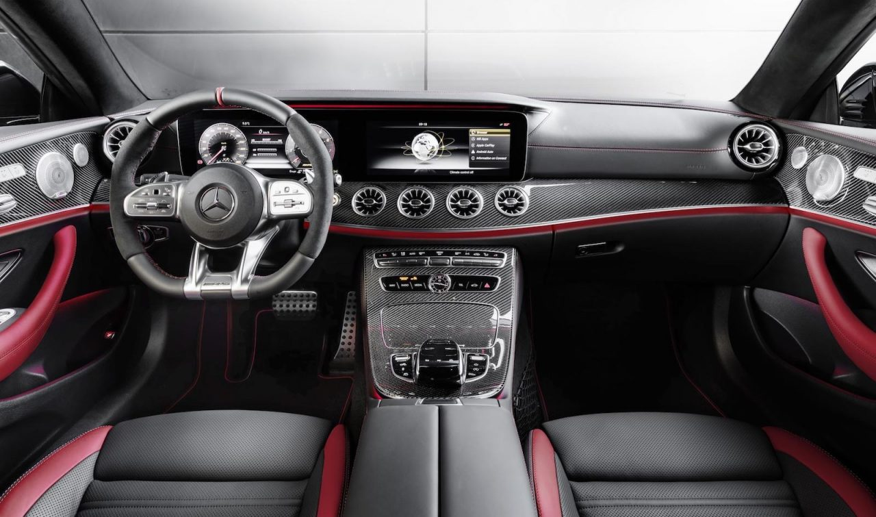 Mercedes amg 53 revealed with inline 6cyl cls 53 and e 53 performancedrive - Mercedes e coupe interior ...