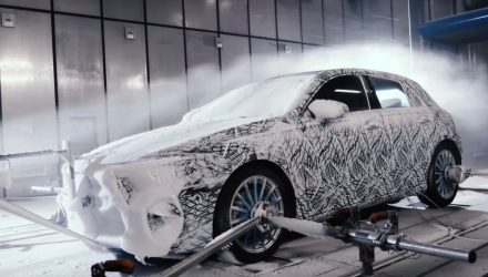 2018 Mercedes A-Class completes extreme winter testing (video)