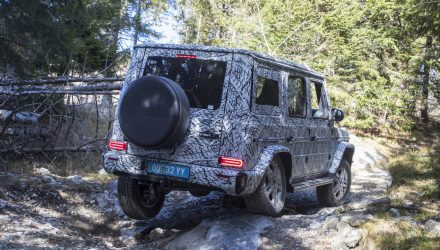 2019 Mercedes-Benz leaks online, off-road specs confirmed