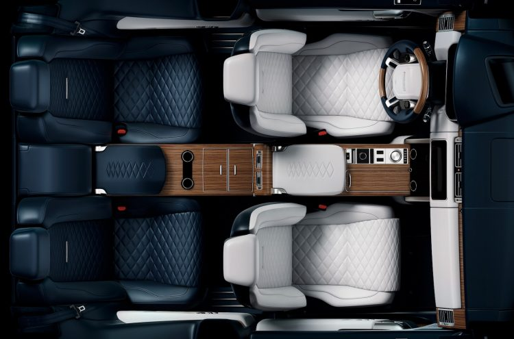 Range Rover SV Coupe Interior Teased Ahead Of Geneva Debut