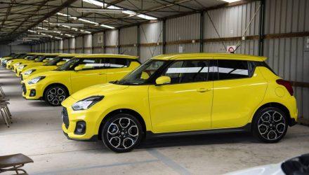 2018 Suzuki Swift Sport-Australian launch