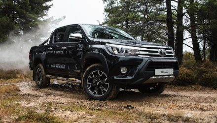 Toyota HiLux celebrates 50th anniversary with Chrome Edition