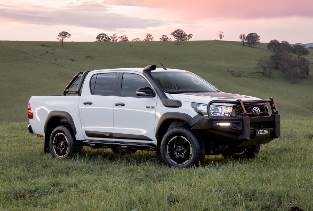toyota hilux rugged rogue variants confirmed for australia performancedrive. Black Bedroom Furniture Sets. Home Design Ideas