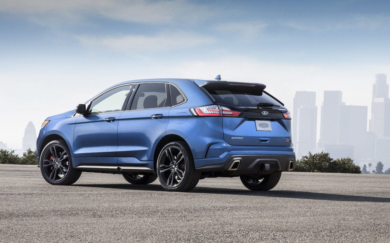 2019 ford edge st revealed as proper performance variant performancedrive. Black Bedroom Furniture Sets. Home Design Ideas