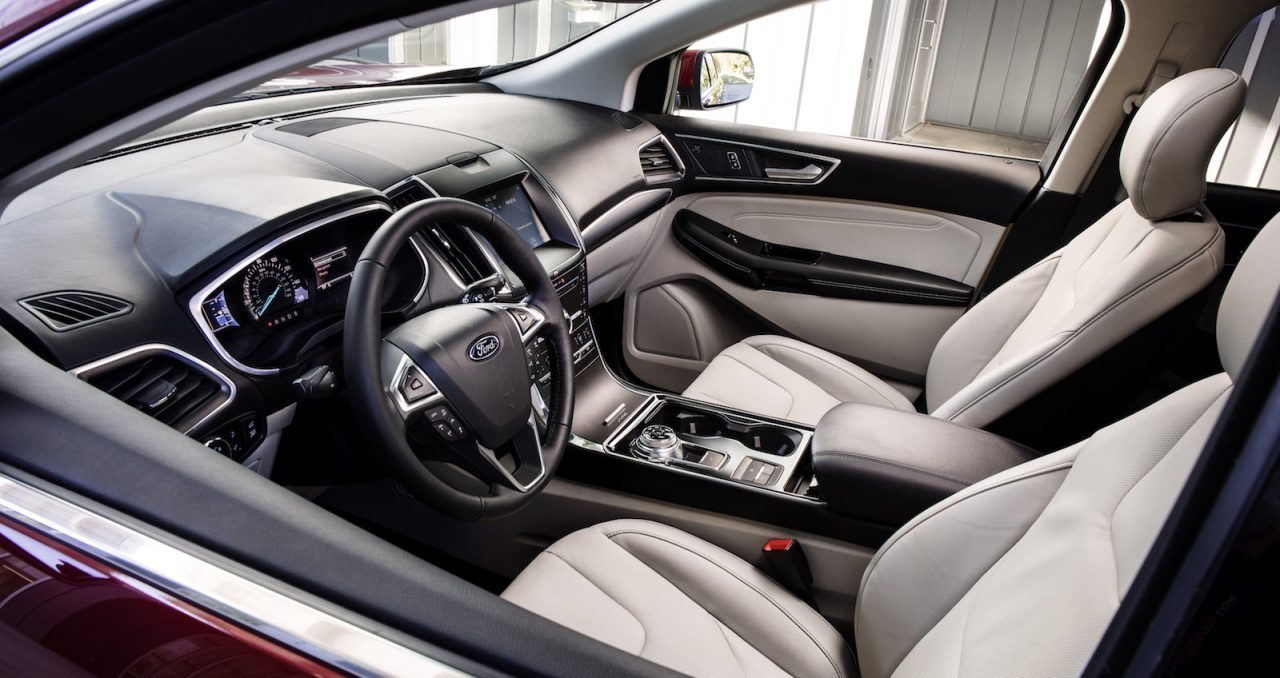 Ford Escape Titanium >> 2019 Ford Edge ST revealed as proper performance variant ...