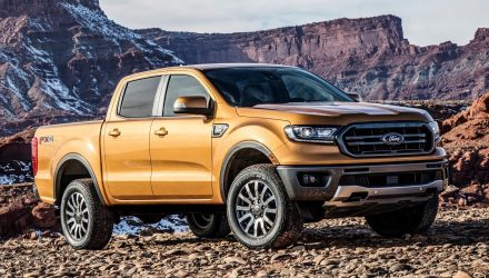 US-spec 2019 Ford Ranger unveiled, gets 2.3T with 10-spd auto