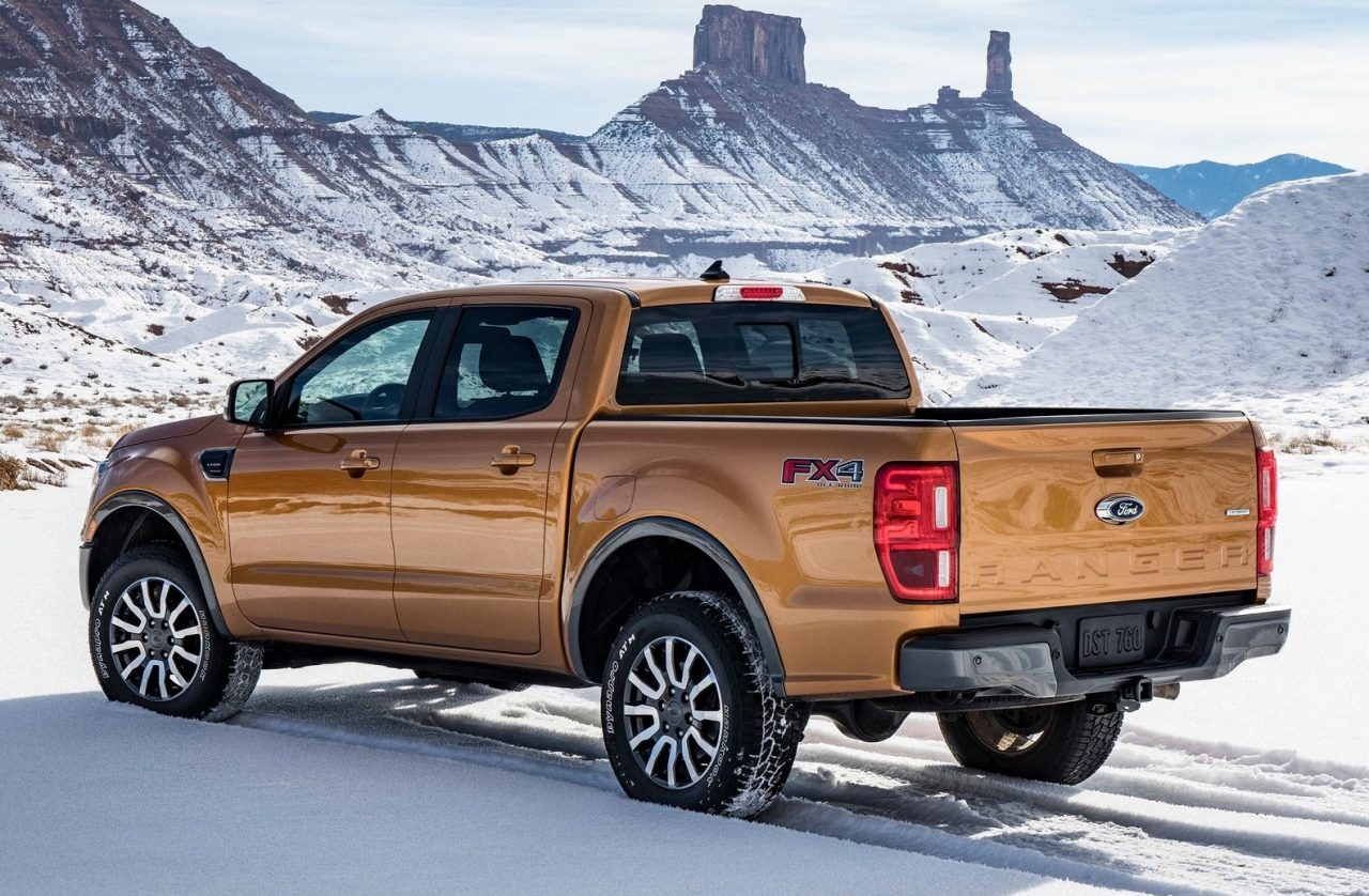 US-spec 2019 Ford Ranger unveiled, gets 2.3T with 10-spd ...