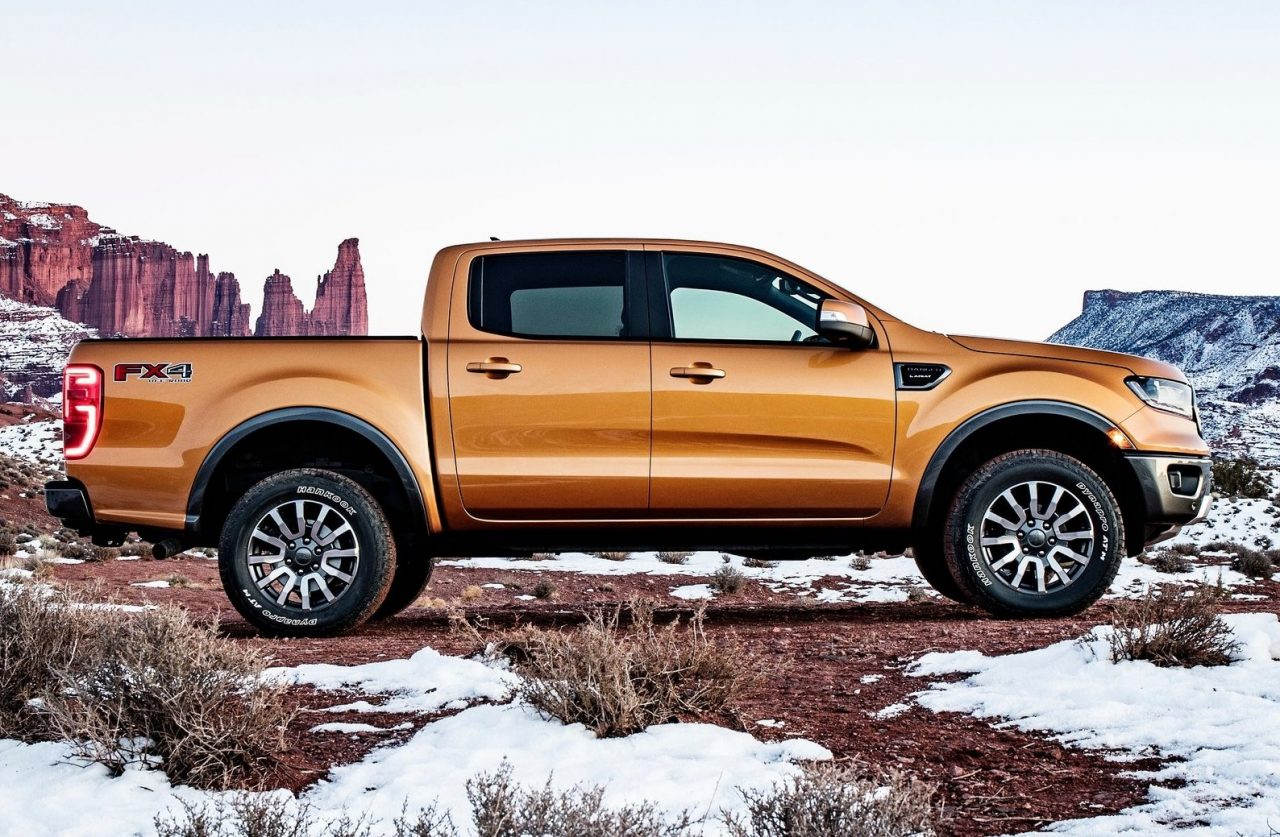 us spec 2019 ford ranger unveiled gets 2 3t with 10 spd auto performancedrive. Black Bedroom Furniture Sets. Home Design Ideas