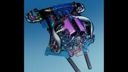Chevrolet Corvette C8 'LT7' twin-turbo revealed via CAD image
