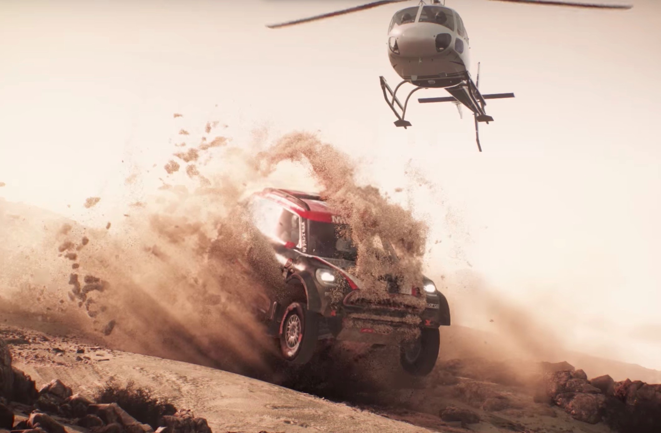 video dakar 18 trailer looks good new rally game for ps4. Black Bedroom Furniture Sets. Home Design Ideas