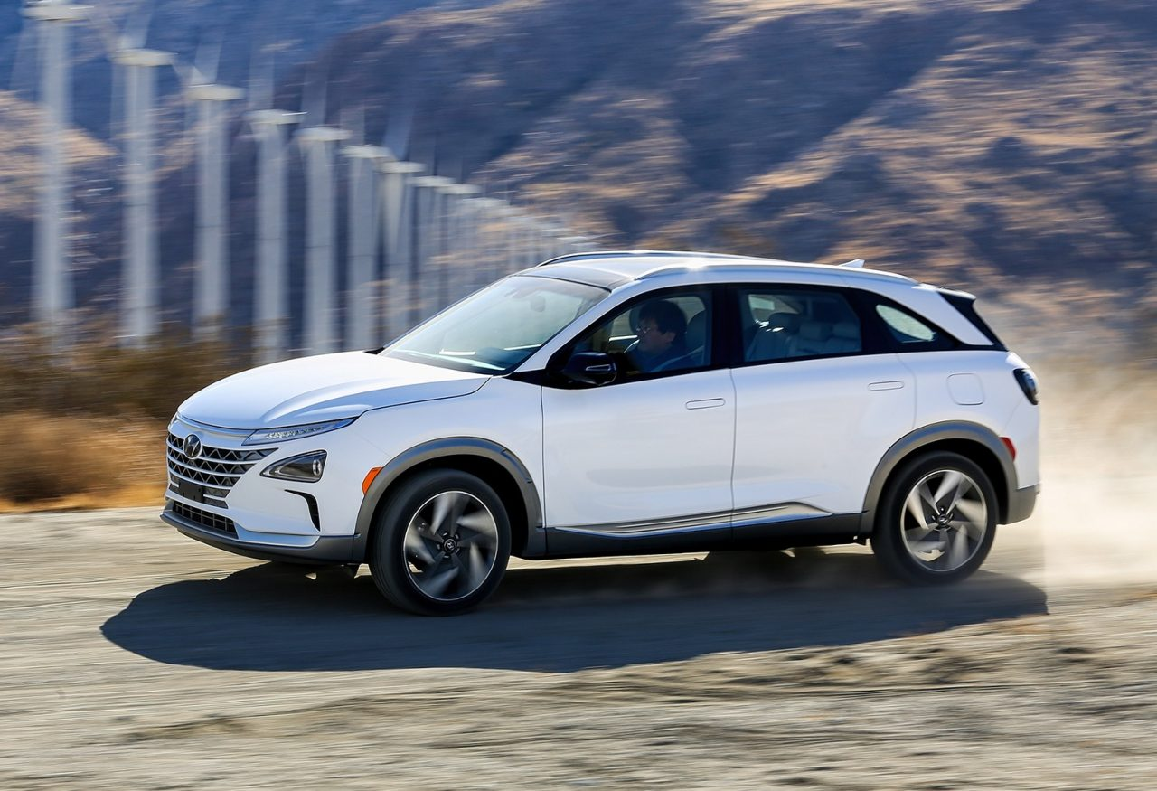 hyundai nexo revealed as new fuel cell crossover. Black Bedroom Furniture Sets. Home Design Ideas