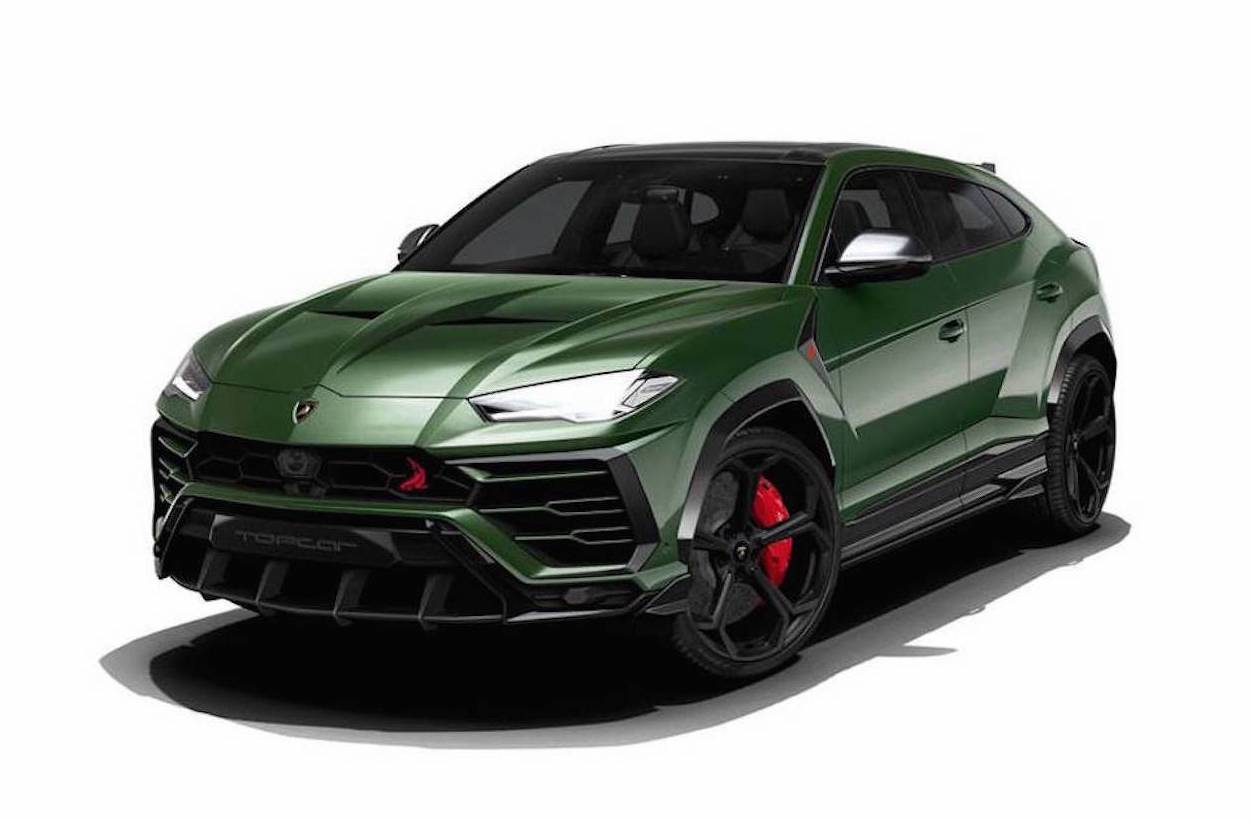 topcar plans lamborghini urus upgrades already performancedrive. Black Bedroom Furniture Sets. Home Design Ideas