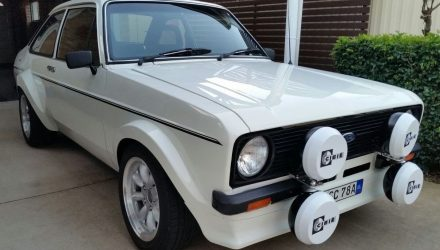 For Sale: 1980 Ford Escort Mk2 with 2L Zetec twin-cam conversion