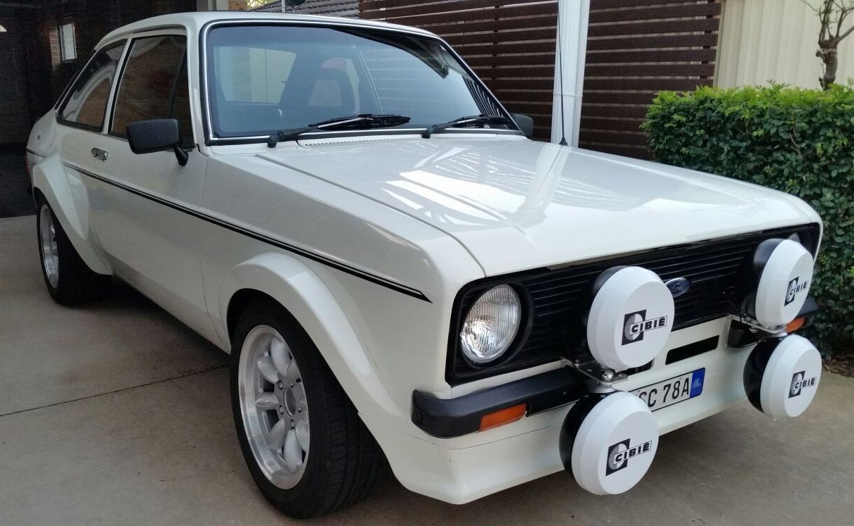 For Sale: 1980 Ford Escort Mk2 with 2L Zetec twin-cam conversion ...