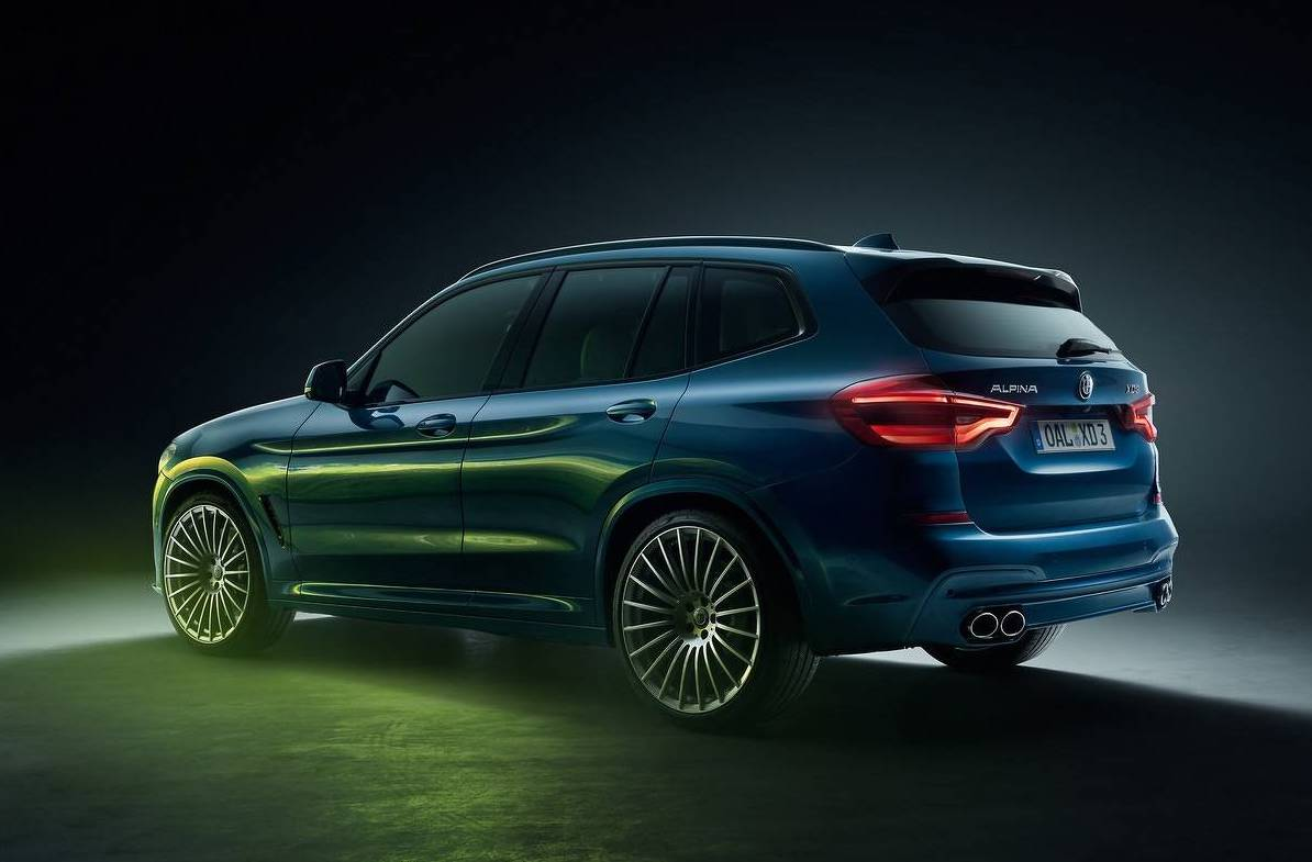Bmw X3 Gets Alpina Attention For First Time The Alpina