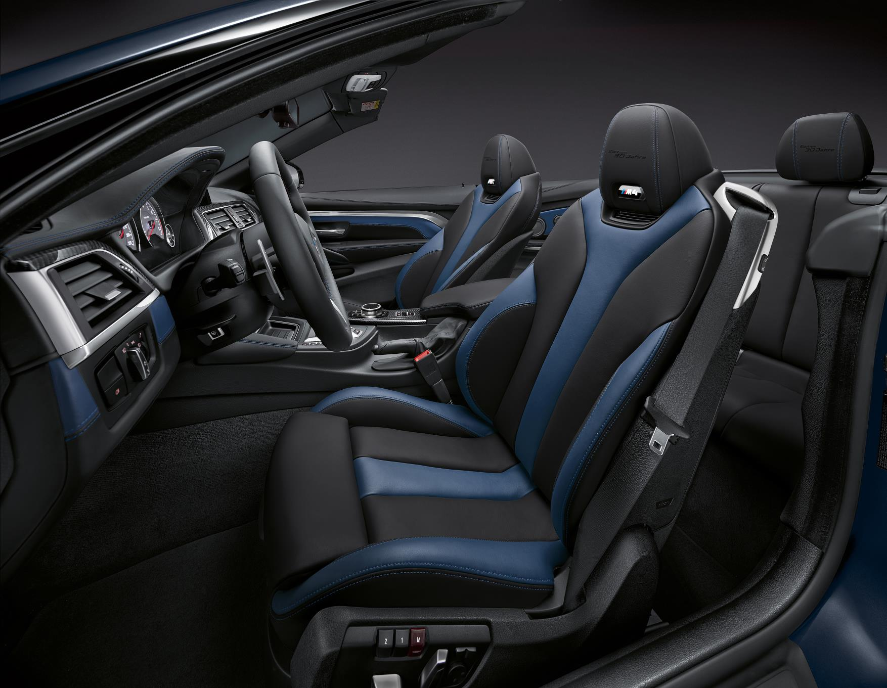 2018 BMW M4 Convertible Edition 30 Interior