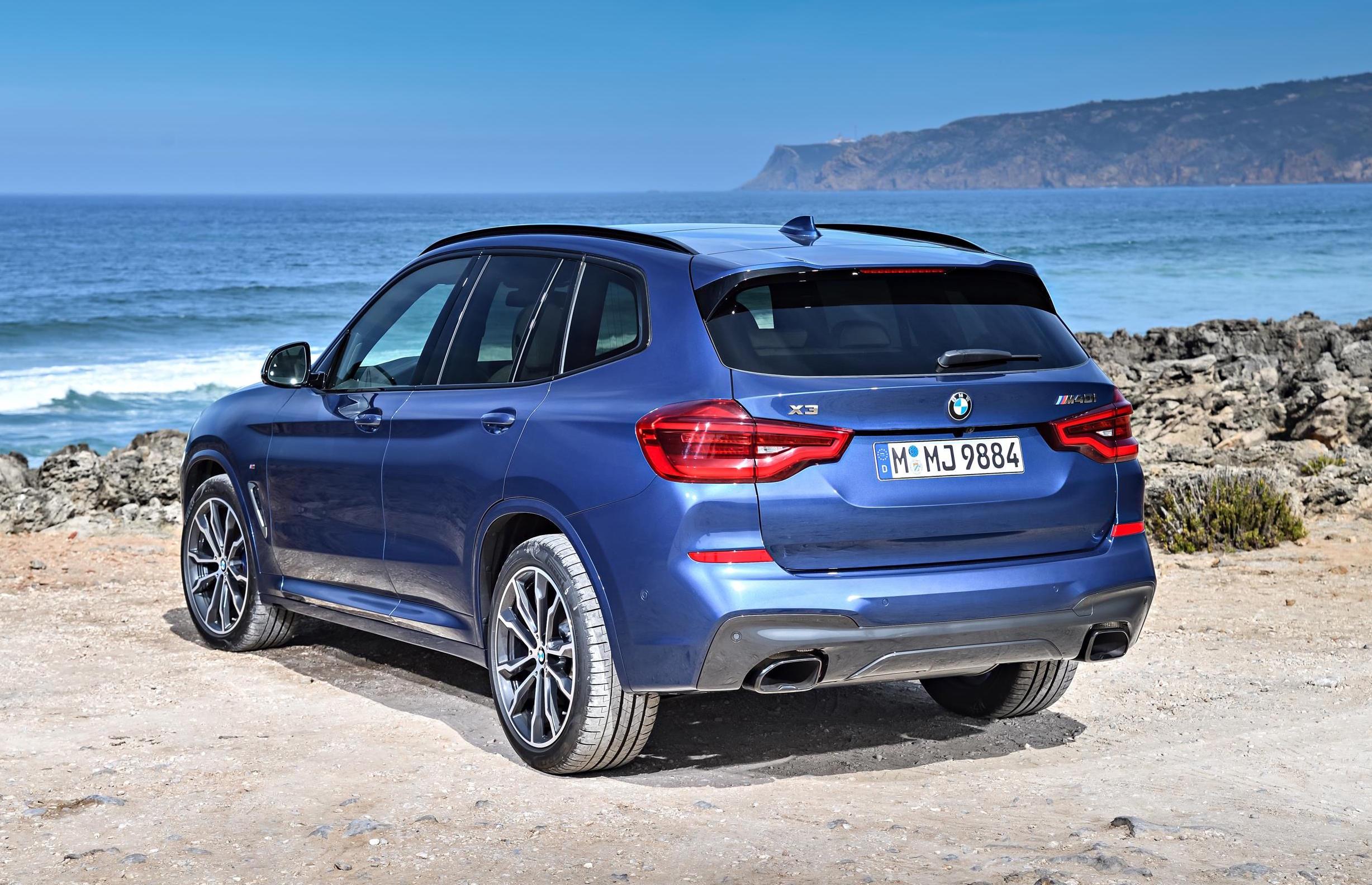 Mazda X3 2017 >> 2018 BMW X3 M40i-rear