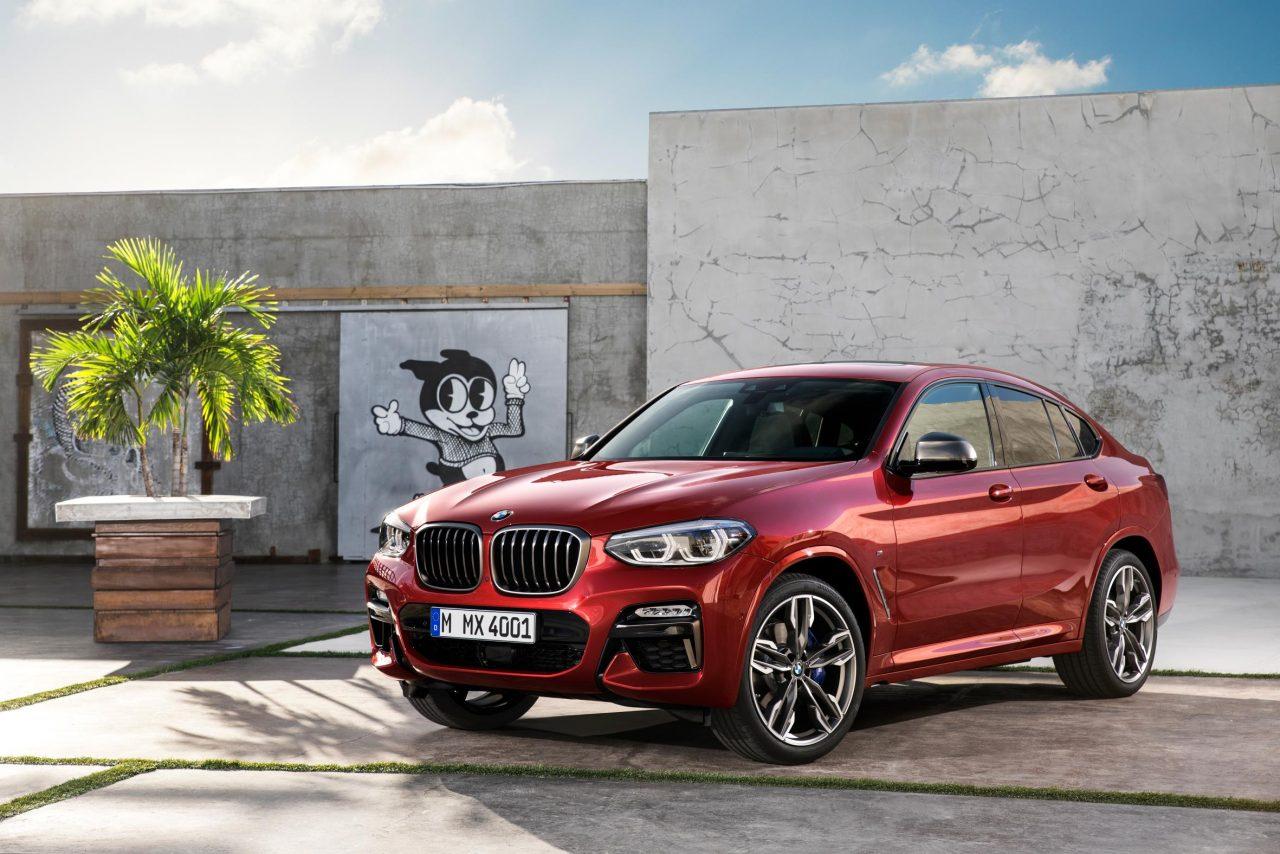 2018 BMW X4 Revealed M40d Performance Diesel Confirmed