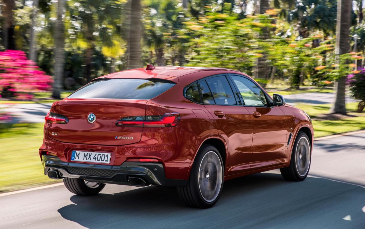 2018 Bmw X4 Revealed M40d Performance Diesel Confirmed Performancedrive
