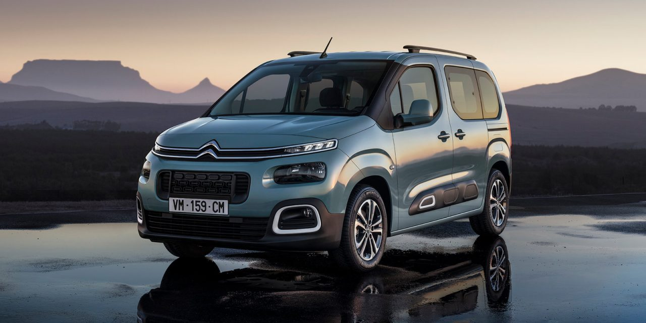 2018 citroen berlingo shown in passenger van form ahead geneva performancedrive. Black Bedroom Furniture Sets. Home Design Ideas