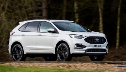 Euro-spec 2018 Ford Edge debuts new bi-turbo EcoBlue diesel