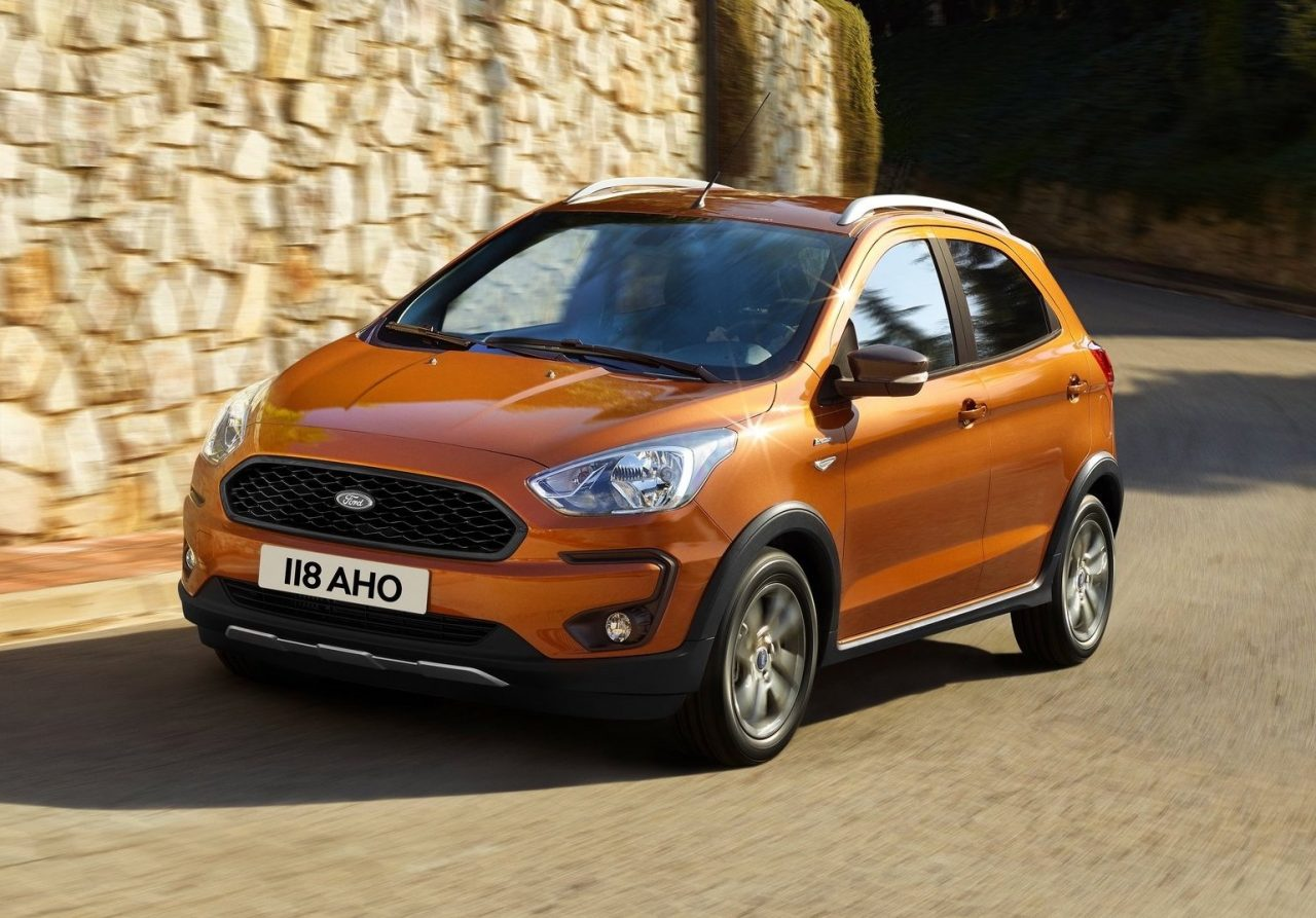 2018 ford ka revealed active crossover added. Black Bedroom Furniture Sets. Home Design Ideas